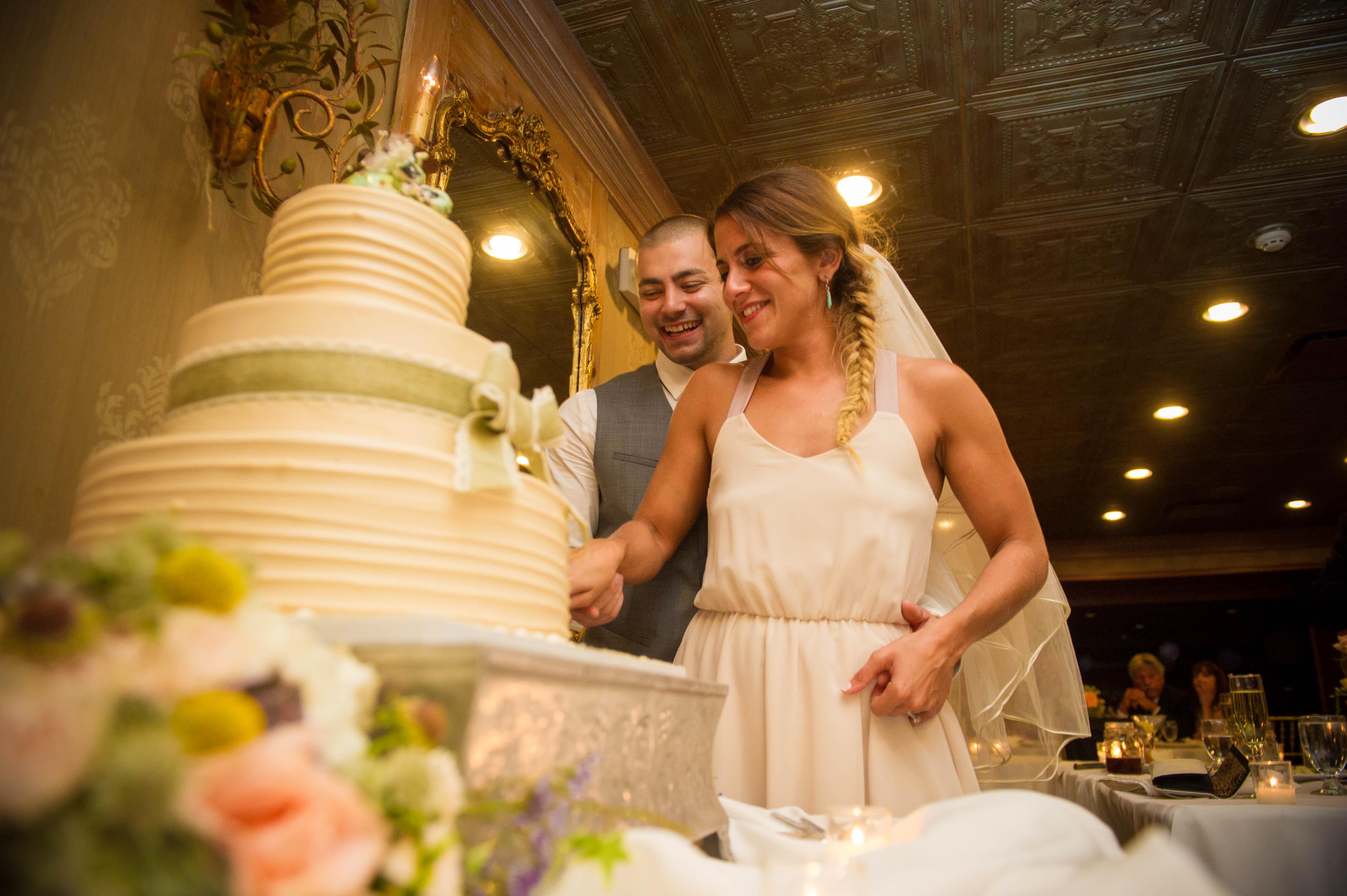 Dana and Michael Wedding at Olde Mill Inn - Enchanted Celebrations